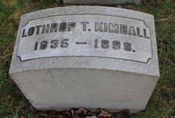 Lothrop Turner Kimball