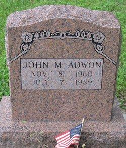 John M Adwon