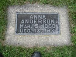 Anna Charlotte <i>Carlson</i> Anderson