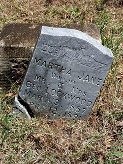 Martha Jane Lockwood