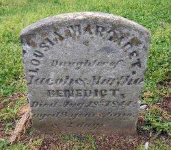 Louisa Margaret Benedict