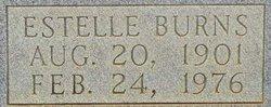 Estelle <i>Burns</i> Belk