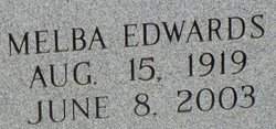 Melba <i>Edwards</i> Jones