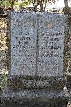 Anna Elisabeth Elsie <i>Schmidt</i> Benke
