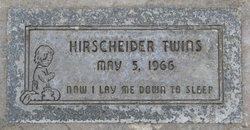 Hirscheider 'Twins'