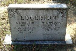 Annie Mae <i>Deaver</i> Edgerton