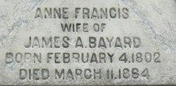 Anne Francis Bayard