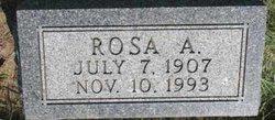 Rosa A Steadman
