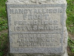 Nancy <i>Allison</i> Frost