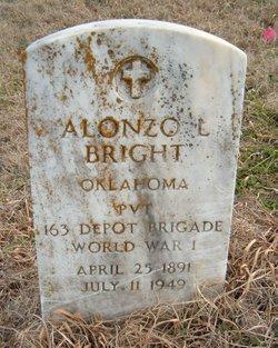 Pvt Alonzo L. Bright