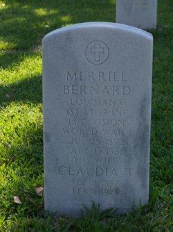 Lieut Merrill Bernard, Jr