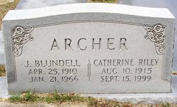Catherine Jean <i>Riley</i> Archer