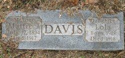 Martha J Mattie <i>Stockstill</i> Davis