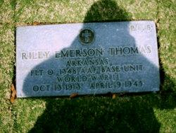 Lieut Riley Emerson Thomas
