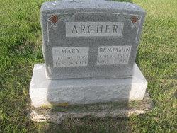 Mary Ellen <i>Hulett</i> Archer
