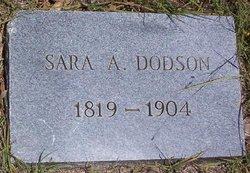 Sarah Ann <i>Curlin</i> Dodson