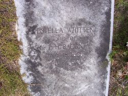 Estella <i>Whitten</i> Bacon