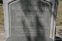 William Herman Will Ainsworth