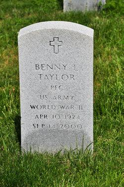 PFC Benny L. Taylor