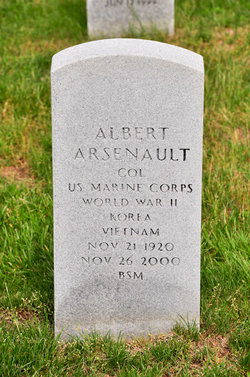 Col Albert Arsenault