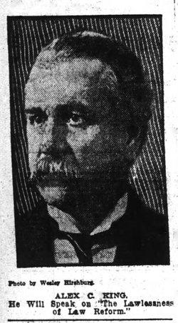 Alexander Campbell King