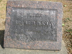 Grace <i>McGeorge</i> Dickson