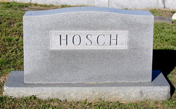 Walter E Hosch
