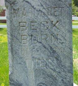 Margaret <i>Dehn</i> Beck