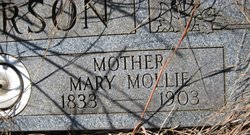 Mary Mollie Anderson