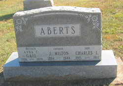 Anna C. Gail Gail <i>Stermer</i> Aberts