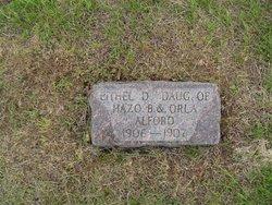 Ethel D. Alford