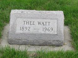 Thee Watt
