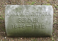 Anna M. <i>Fichthorn</i> Bergner
