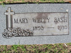 Mary Welty Bash