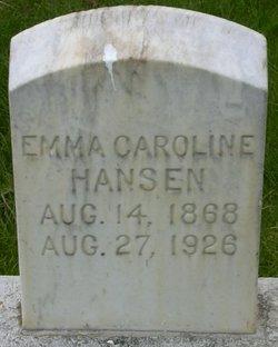 Emma Caroline Hansen