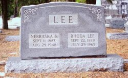 Nebraska B N B Lee