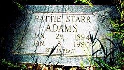 Hattie <i>Starr</i> Adams