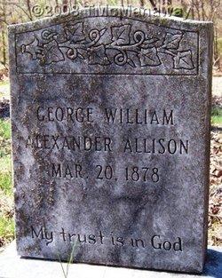 George William Alexander Allison