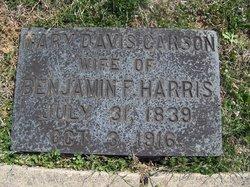 Mary Davis <i>Carson</i> Harris