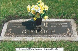 Bertha W. <i>Bohn</i> Dietrich