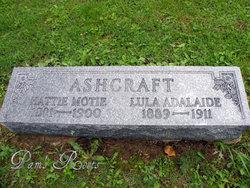 Hattie Motie Ashcraft