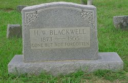 H. W. Blackwell