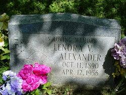Lenora V Alexander