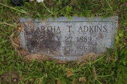 Martha T <i>Hale</i> Adkins