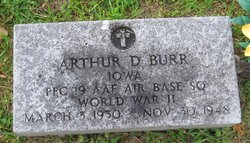 Arthur D Burr