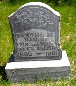 Bertha M. Alder