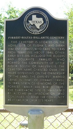 Forrest-Rogers-Dollahite Cemetery