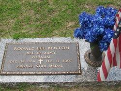 Ronald Lee Benton