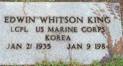 LCpl Edwin Whitson King