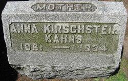 Anna Friedrike Luise <i>Schumann</i> Kirschstein Kahns